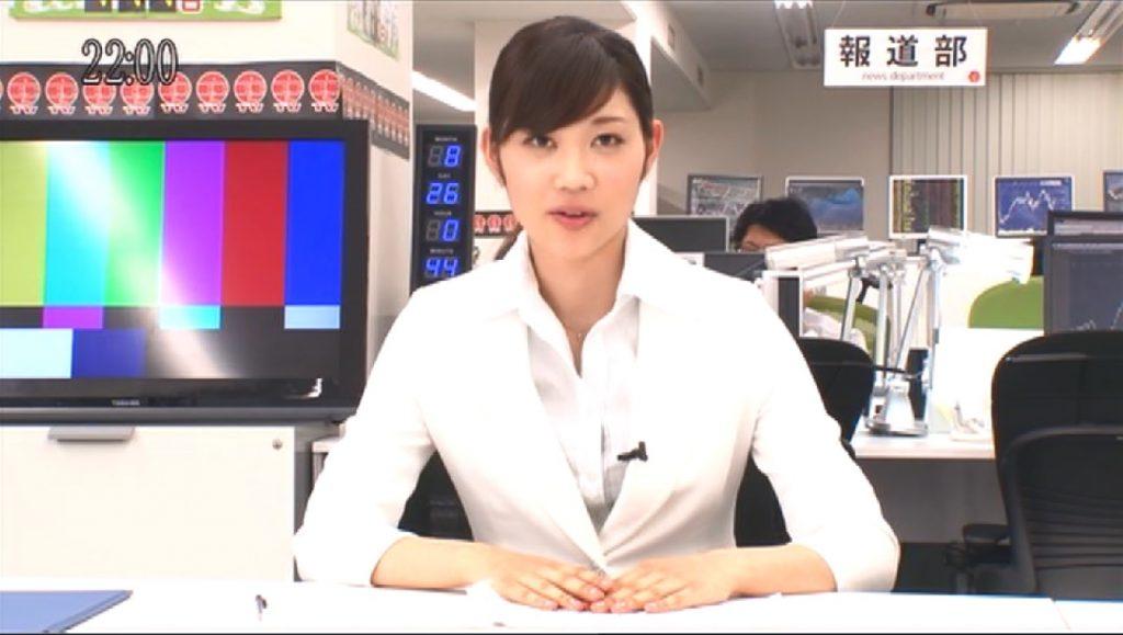 エロ大好きな女子アナの角川珠希
