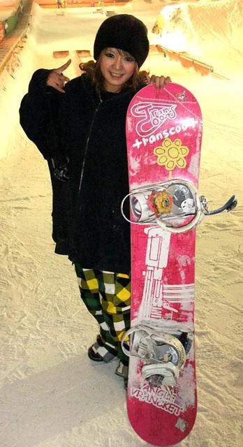 奈須沙織 スノーボード