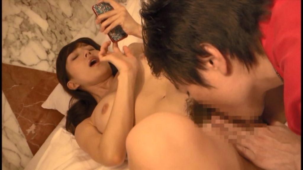 嘉門洋子 グラビアアイドル クンニで感じる
