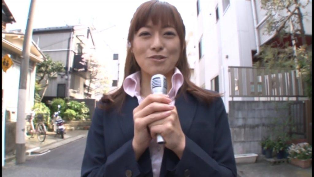 徳島えり 女子アナ 今日もマイクをチンポに持ち替えて元気にリポート